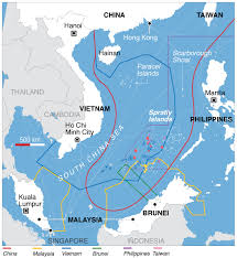 Free Passage through South China Sea Demanded by EU