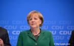 Merkel's Pledge Of A United Germany in 2019