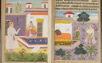 """The Love Story of Amar Chattar and Sundari Virda in the Pure """"Provincial Mughal"""" Style"""