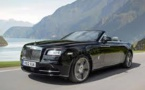 'Dawn' - New Convertible From Rolls Royce Unveiled
