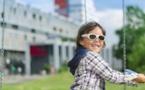 Electronic Smart Glasses Treat Children's Amblyopia