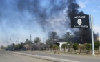 Air raids on ISIS's capital kill scores of people