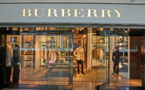 Burberry's shares went down